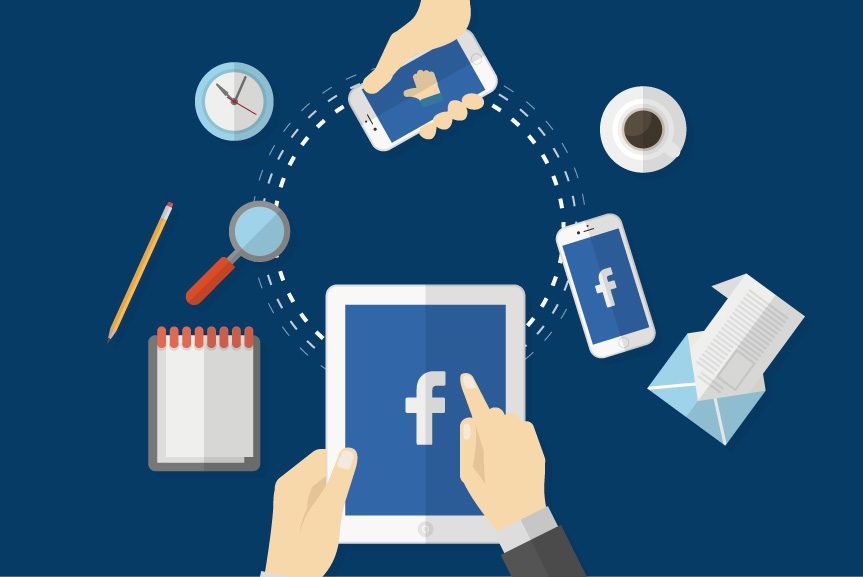 Facebook auto posting at the click of a button!