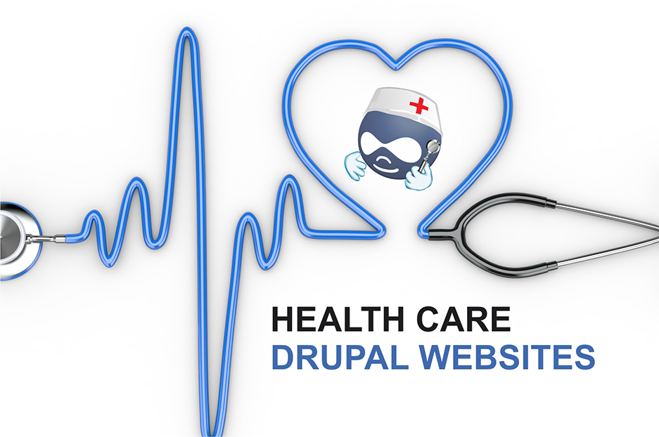 Some great health care websites built with Drupal