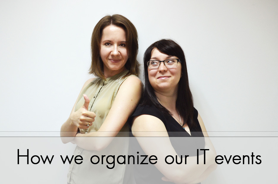How we organize our IT events: a look behind the scenes