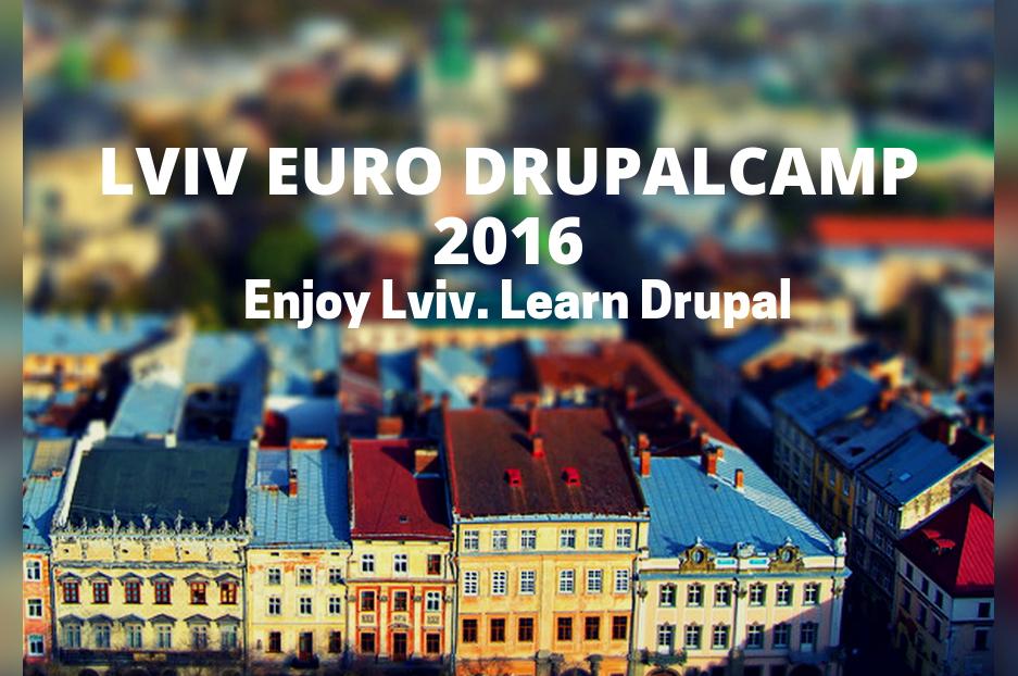 Lviv Euro DrupalCamp 2016: every drupaler's destination for September 3-4