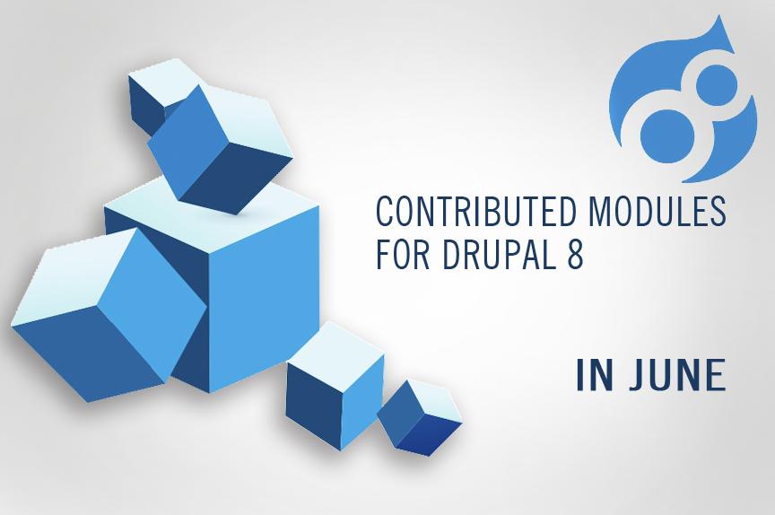 Колекція червень-2016: корисні контрибні модулі для Drupal 8