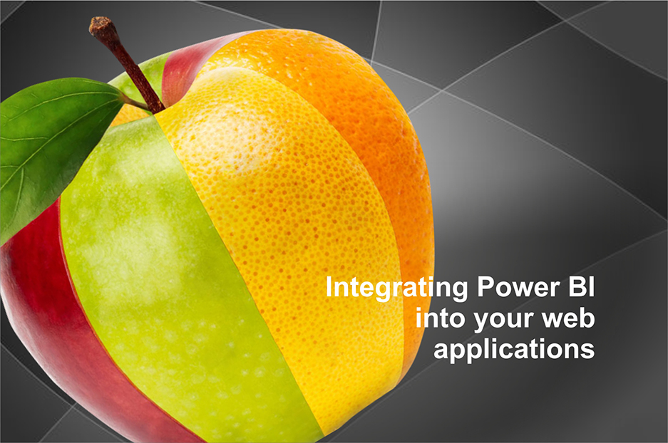 Integrating Power BI into your web applications (tips by Charles Sterling)