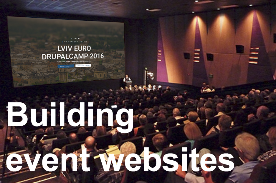 Tips on building an irresistible event website