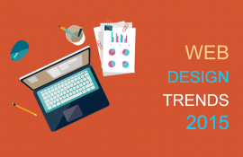 Web Design Trends 2015 - Infographics