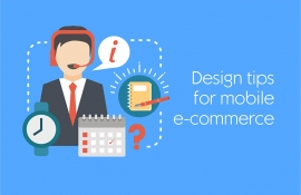 Design tips for your mobile e-commerce website