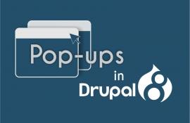 Модальні вікна (попапи) у Drupal 8