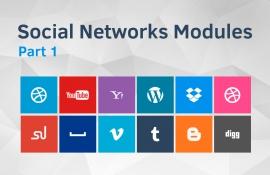 Drupal mudules for social networks integration