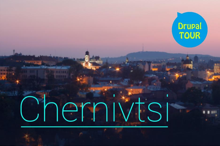 DrupalTour in Chernivtsi