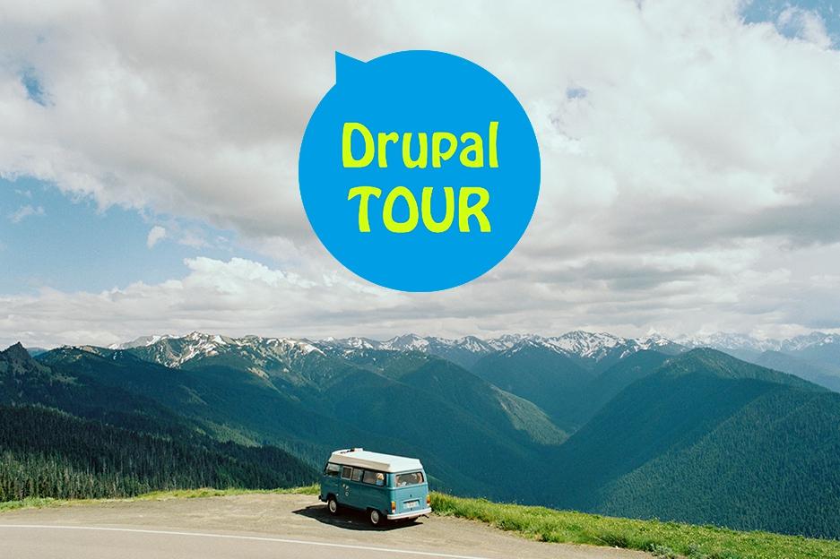 Drupal tourists are Drupal Touring!