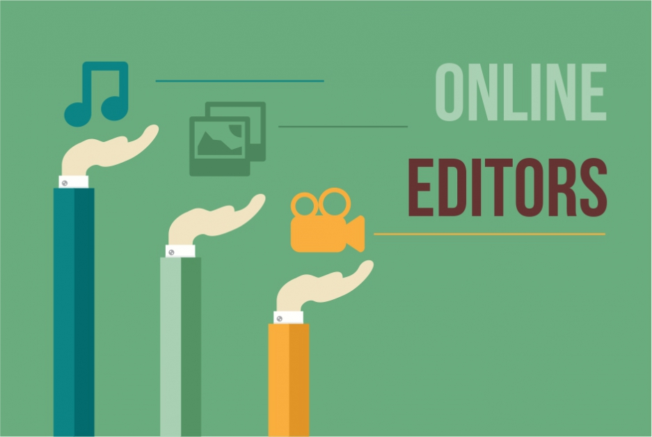 Create multimedia content easily: free online photo, video & audio editors