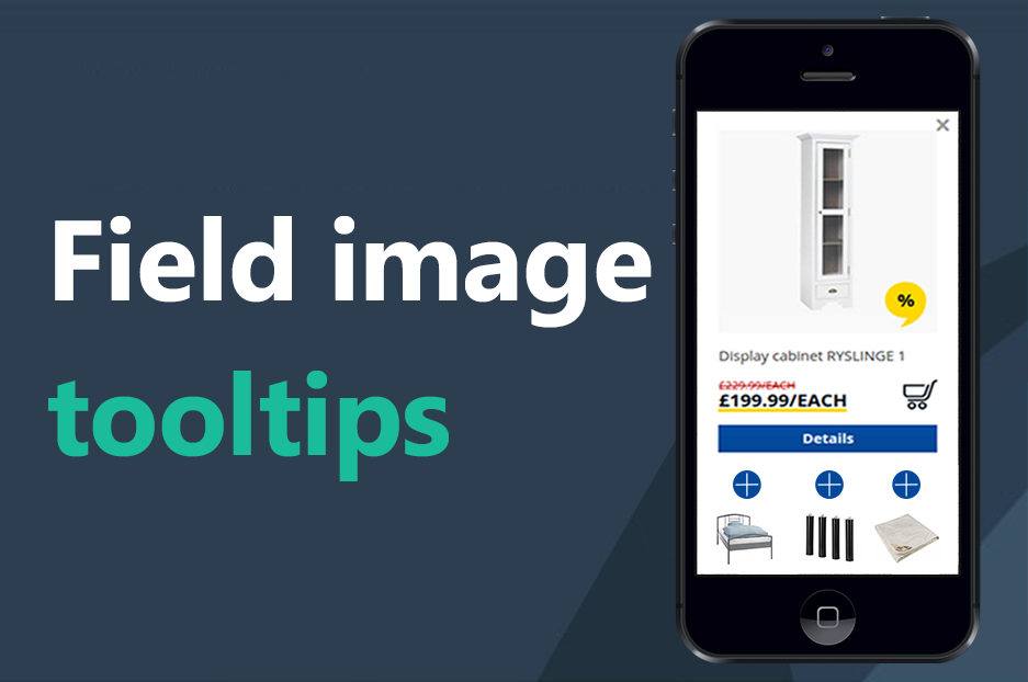 The Field image tooltips Drupal module by InternetDevels developers