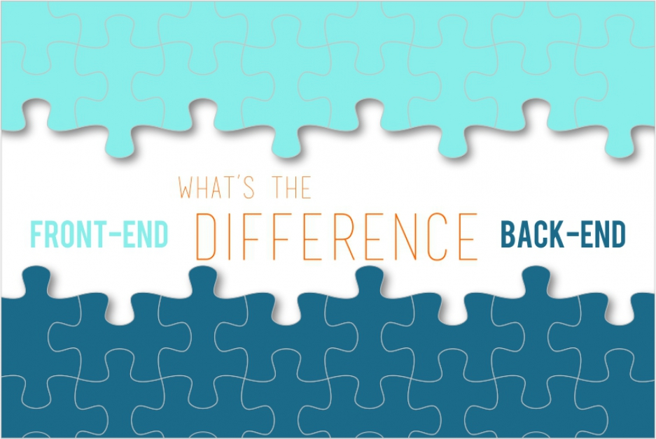 Front-end development vs back-end development: what's the difference?