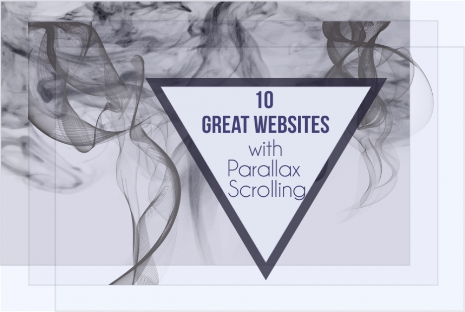 Beauty in motion: 10 examples of interesting Parallax effect websites